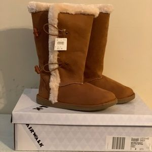 Airwalk Cognac Suede Myra Boot